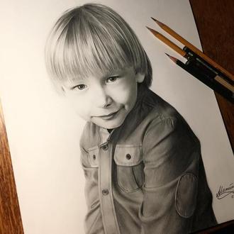 Детский портрет по фото