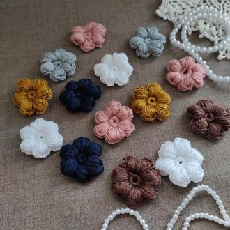 В'язані квіти