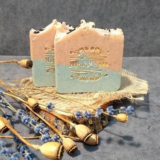 Рослинне мило з 2-ма глинами (виготовлено холодним способом)🌼🌼🌼