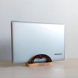 Вертикальная подставка для ноутбука