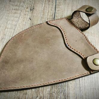 Кожаный чехол для ножа под заказ