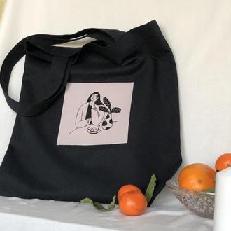 Сумка-шопер, тканевая сумка, сумка для продуктов