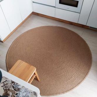 Килим (170cм) з джуту круглий