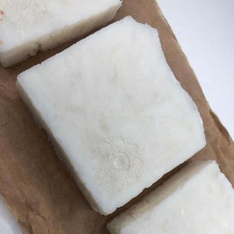 Натуральное мыло с нуля кокосовое хозяйственное