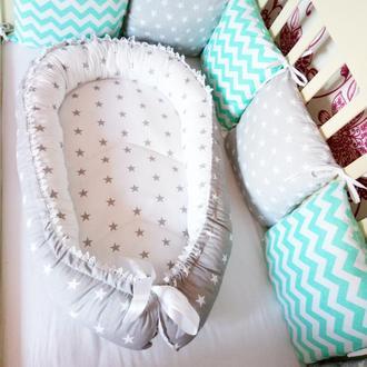 Гнездышко для новорожденных ,кокон, позиционер