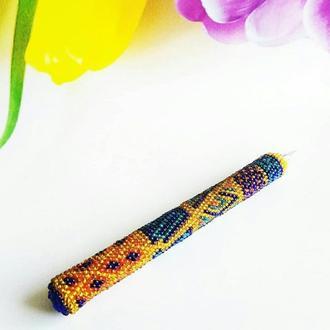 Эксклюзивная ручка из бисера