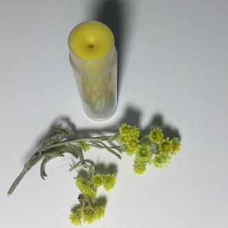 Натуральный бальзам для губ с облепиховым маслом