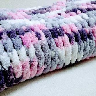 детское одеяло-плед-зефирка