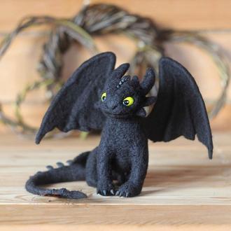 Беззубик дракон, черная фурия