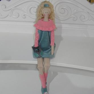 Кукла в стиле Тильда  Милена 52см в коробке