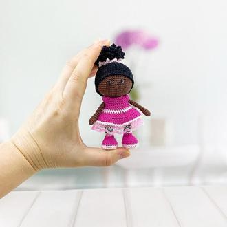 Куколка мини, афроамериканка