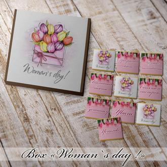 Шоколадный набор Box Woman`s day!