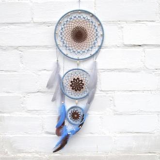 Ловець снів, панно на стіну, подарунок, декор інтер'єру