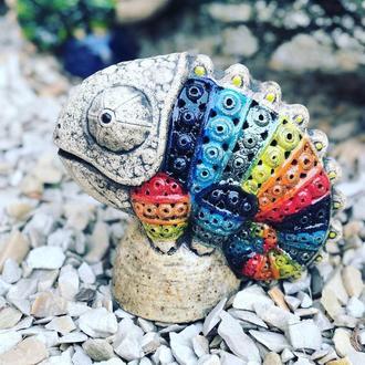 Керамический сувенир ХАМЕЛЕОН