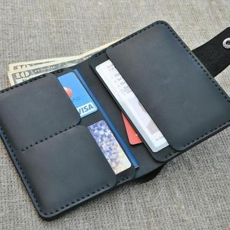 Портмоне и чехол для автомобильных документов в одном изделии D07-0