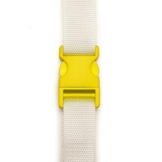 Заготовка для Бизиборда Пластиковая Застежка Большой Фастекс Желтый 1 шт + Лента Саморезы