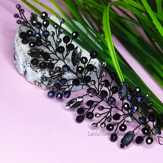 Праздничная плетенная веточка (лоза)  для волос