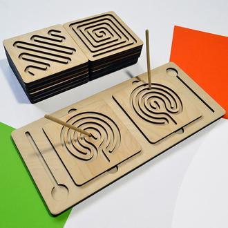 Межполушарные доски (дидактические карточки). Развивающая доска для детей