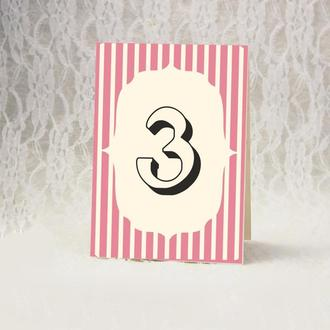 Номер стола (арт. TN-13-1)