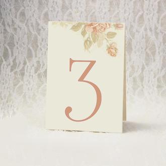 Номер стола  (арт. TN-3674)