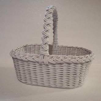 Плетеная корзина 35см*23см