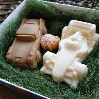 «Уран» подарочный набор мужчине. Набор натурального мыла, с нуля.