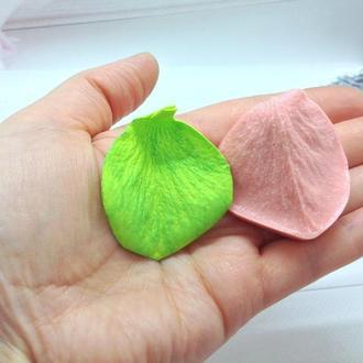 Пластиковый Молд лепесток бокальной розы малый для фоамирана и глин , Размер 5 см на 4 см,1 шт.