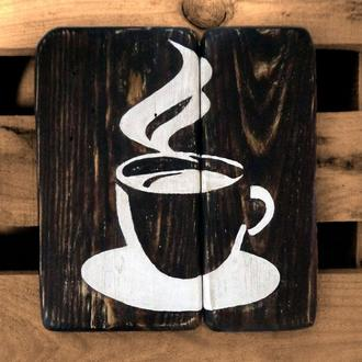 """Картина в стиле лофт """"Coffeе"""""""