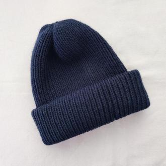 Шапка Beanie hat, шапка унисекс, шапка резинка, шапка бини