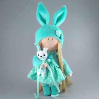 Інтер'єрна лялька зайка