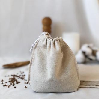 Набор эко мешочков для продуктов, еко торбинки, хлопковые мешочки