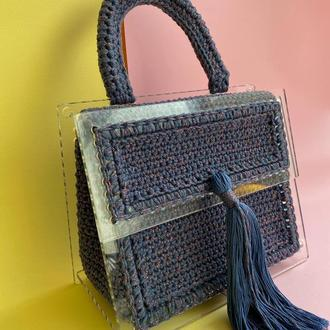 Каркасная сумка с акрила (уценка)