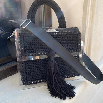 Каркасная сумка с акрила