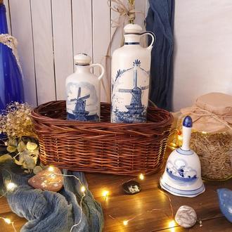 Плетеная овальная корзинка для хранения Корзина для кухни Корзина для хлеба Корзина для фруктов