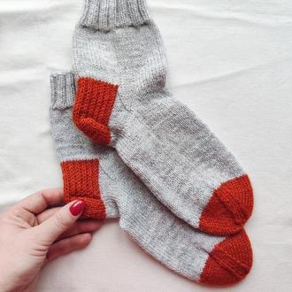 Вязаные носки, домашние носки, женские носки, мужские носки