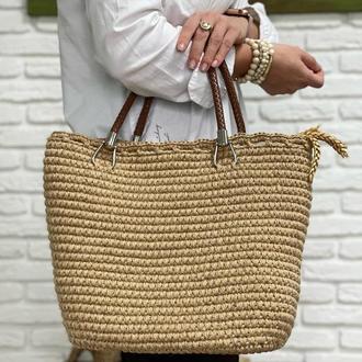 Джутовая сумочка ✨𝐒𝐭𝐞𝐟𝐚𝐧𝐢 ✨