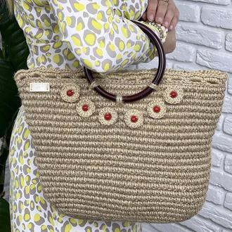 Джутовая сумочка ✨𝐒𝐯𝐞𝐭𝐥𝐚𝐧𝐚 ✨