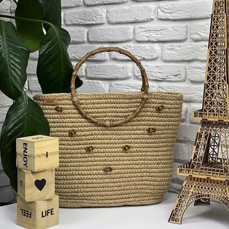 Джутовая сумочка ✨𝐊𝐚𝐭𝐫𝐢𝐧 ✨