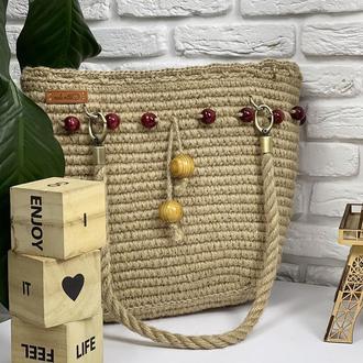 Джутовая сумочка ✨𝐒𝐨𝐟𝐢 ✨