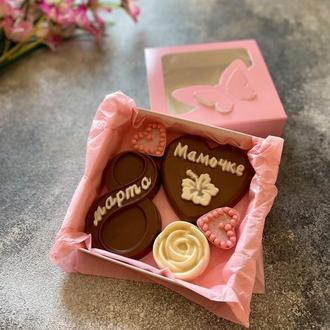 Шоколадный подарок для мамочки на 8 марта