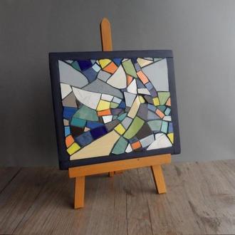 Мозаика разноцветное керамическое панно картина