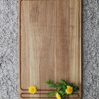 Кухонная разделочная доска 30 на 50 см