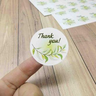 "Стикеры Спасибо, Набор наклеек ""Thank you"""