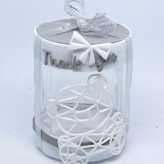 Стильная подарочная упаковка коробочка органайзер 8 марта, свадьбу