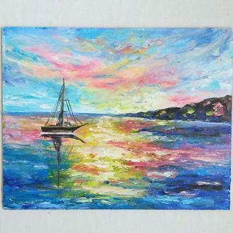 Картина маслом Морський пейзаж
