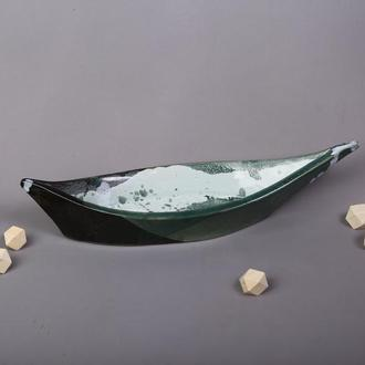 Тарелка - лодка