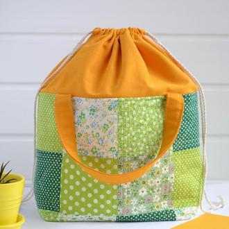 Проектная сумка, сумка для хранений, сумка для вязания