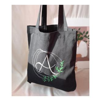 Сумка-шопер с вышивкой, женская сумка, сумка для продуктов, подарок девушке