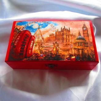 Купюрница ′Лондон′ , шкатулка