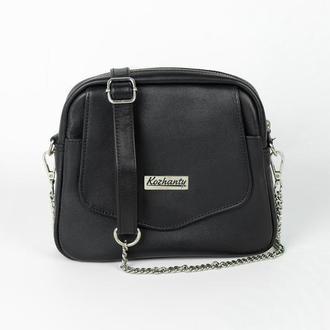 Женская сумочка Crystal из натуральной кожи